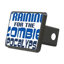 Training for Zombie Apocal Hitch Cover