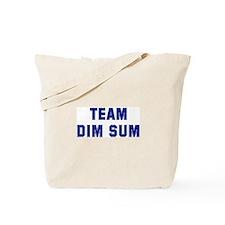Team DIM SUM Tote Bag