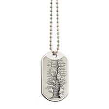 1886 French copy Haeckel 'tree of life' Dog Tags