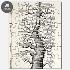 1886 French copy Haeckel 'tree of life' Puzzle