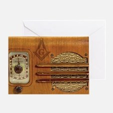 Radio Masons Greeting Card
