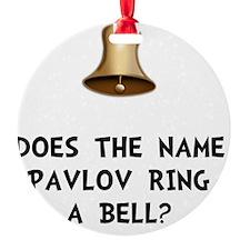 Pavlov Ring Bell Ornament