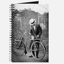 Bicycle radio antenna, 1914 Journal