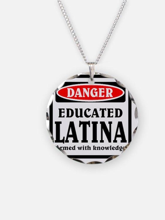 Educated Latina Necklace