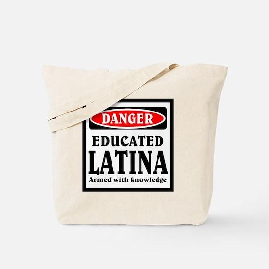 Educated Latina Tote Bag