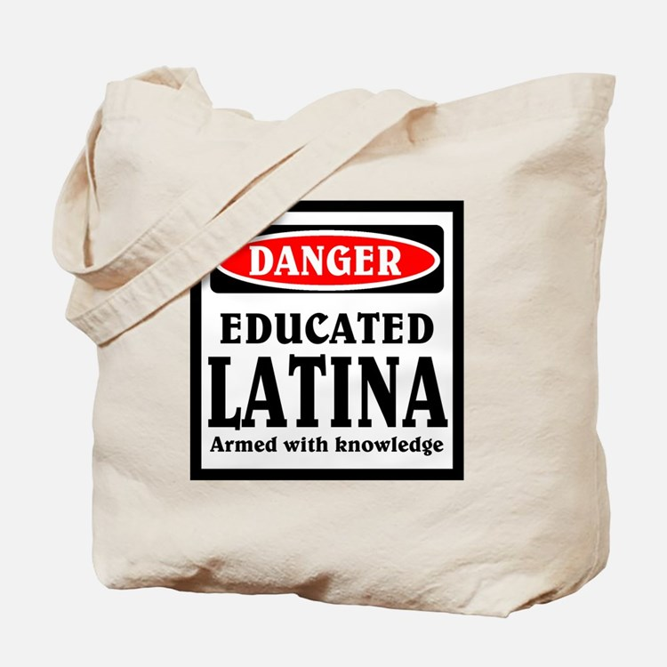 Educated Latina Tote Bag