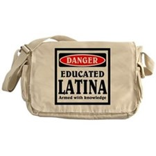 Educated Latina Messenger Bag