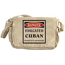 Educated Cuban Messenger Bag