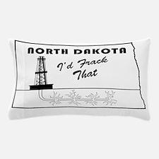 Frack the Bakken Pillow Case