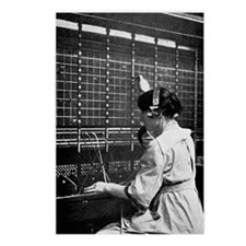 Telephone switchboard ope Postcards (Package of 8)