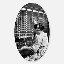 Telephone switchboard operator, 191 Decal