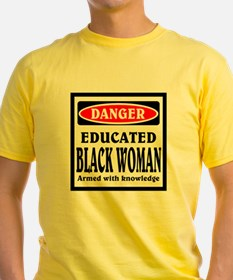 Educated Black Woman T