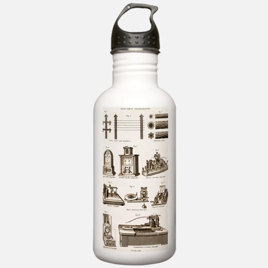 19th Century Electric  Water Bottle