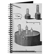 Priestley's apparatus for gas experiments Journal