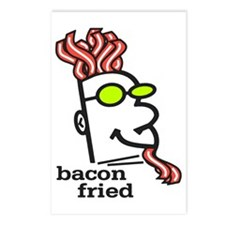 Bacon Fried Postcards (Package of 8)