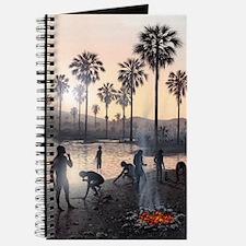Early human settlement, artwork Journal