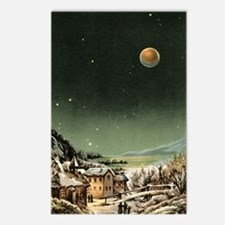 Total lunar eclipse of 18 Postcards (Package of 8)