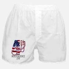 United States 4th of July Independenc Boxer Shorts