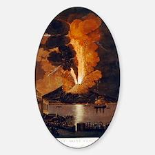 Eruption of Vesuvius, 1779 Decal