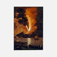 Eruption of Vesuvius, 1779 Rectangle Magnet
