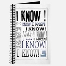 I know! I Know!! Teenagers knows it all.. Journal