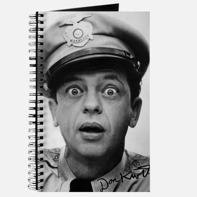 My Dad Don Knotts Journal
