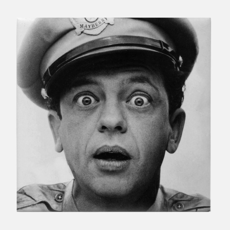 My Dad Don Knotts Tile Coaster