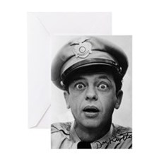 My Dad Don Knotts Greeting Card
