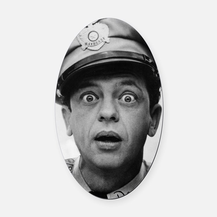 My Dad Don Knotts Oval Car Magnet