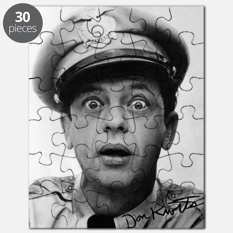 My Dad Don Knotts Puzzle