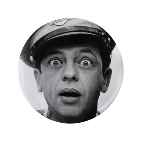 """My Dad Don Knotts 3.5"""" Button"""
