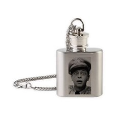 My Dad Don Knotts Flask Necklace
