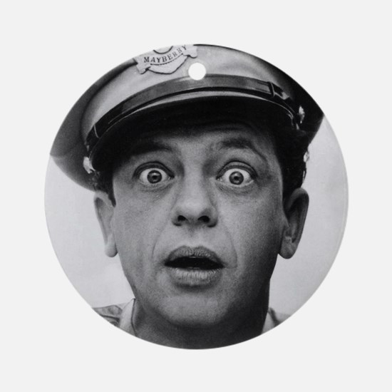 My Dad Don Knotts Round Ornament