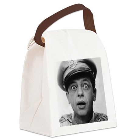 My Dad Don Knotts Canvas Lunch Bag