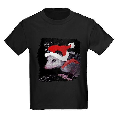 Possum Santa Kids Dark T-Shirt