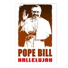 Bill for Pope Postcards (Package of 8)