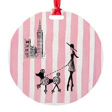 A walk in London Cover Girls Ornament