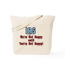 IRS Humor Tote Bag