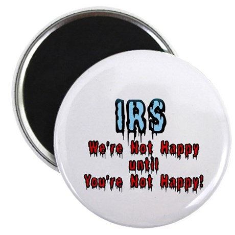 "IRS Humor 2.25"" Magnet (10 pack)"
