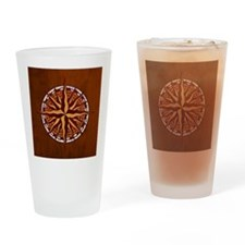 compass-inlay-TIL Drinking Glass