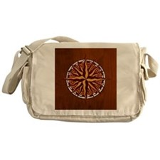 compass-inlay-TIL Messenger Bag