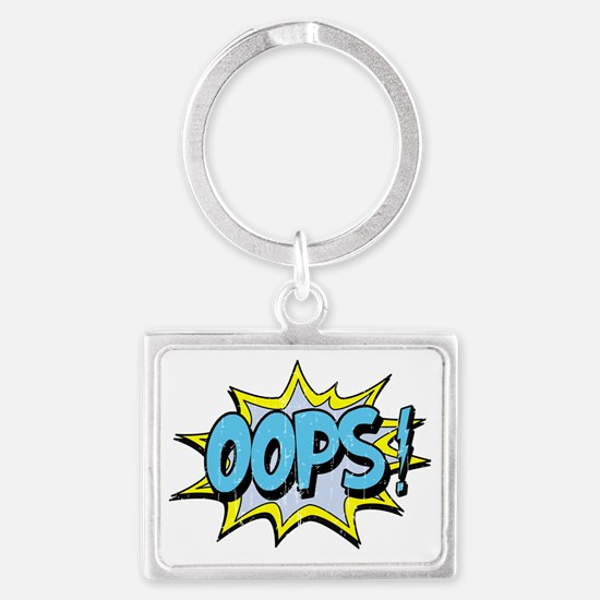 oops Landscape Keychain