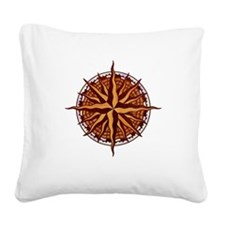compass-inlay-T Square Canvas Pillow