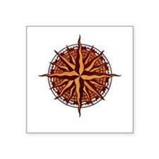 "compass-inlay-T Square Sticker 3"" x 3"""