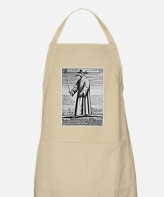 Plague doctor, 17th century artwork Apron