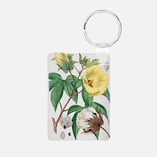 Pima cotton flowers, 19th  Keychains