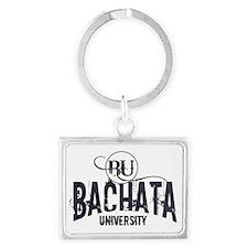 Bachata Dance University Landscape Keychain