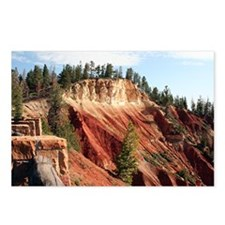 Bryce Canyon, Utah, USA 4 Postcards (Package of 8)