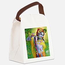 I Love you Krishna. Canvas Lunch Bag