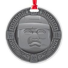 Olmec Grey Ornament